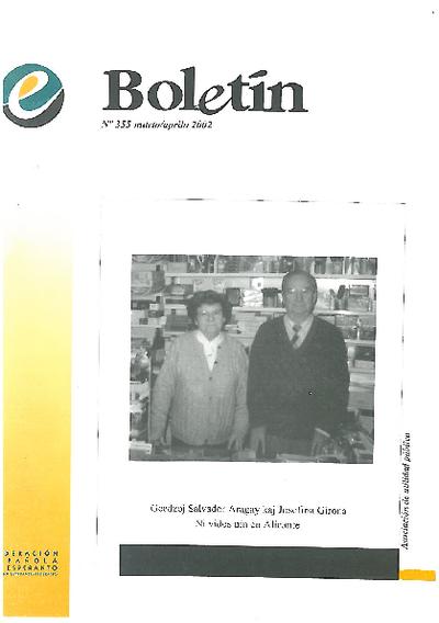 Boletín, [2002], n. 355