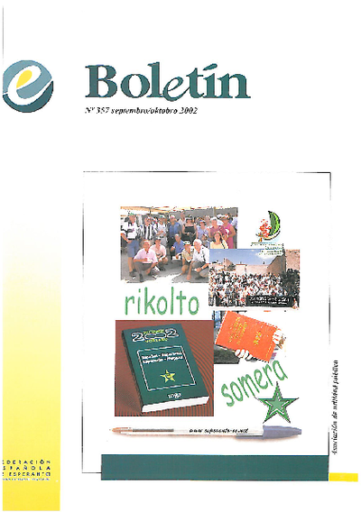 Boletín, [2002], n. 357
