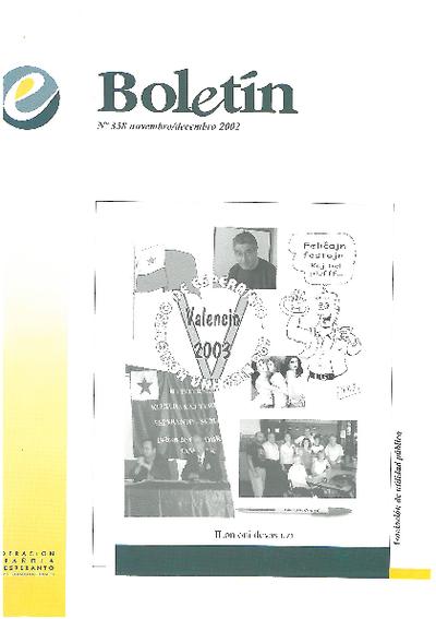 Boletín, [2002], n. 358