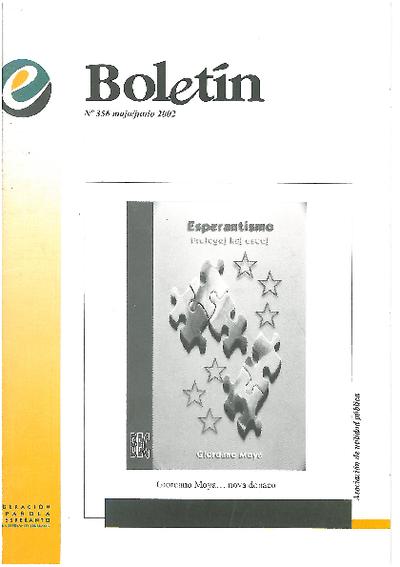 Boletín, [2002], n. 356