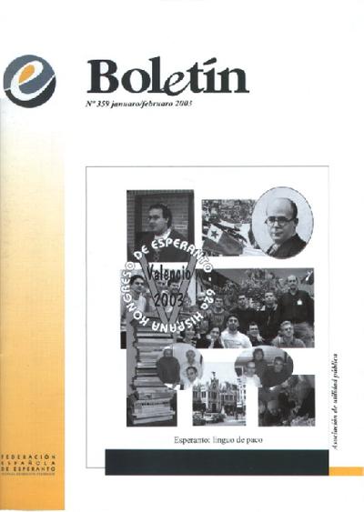 Boletín, [2003], n. 359