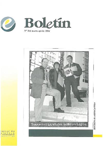 Boletín, [2004], n. 365