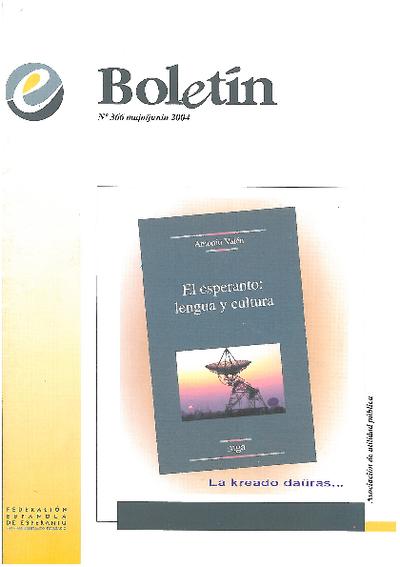 Boletín, [2004], n. 366