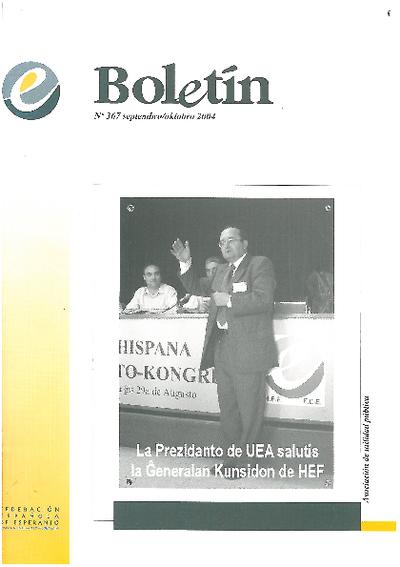 Boletín, [2004], n. 367