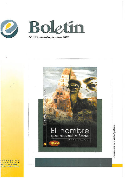 Boletín, [2006], n. 375