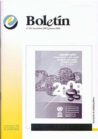 Boletín, [2007], n. 381