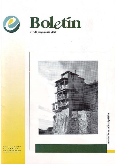 Boletín, [2008], n. 383