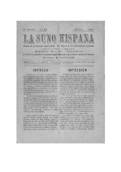 La suno hispana, [1924], n. 082, 3a epoko