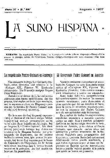 La suno hispana, [1907], n. 044, jaro IV