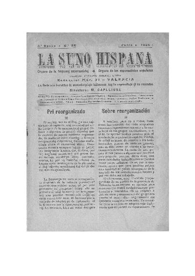 La suno hispana, [1924], n. 085, 3a epoko