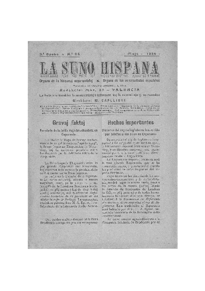 La suno hispana, [1924], n. 084, 3a epoko