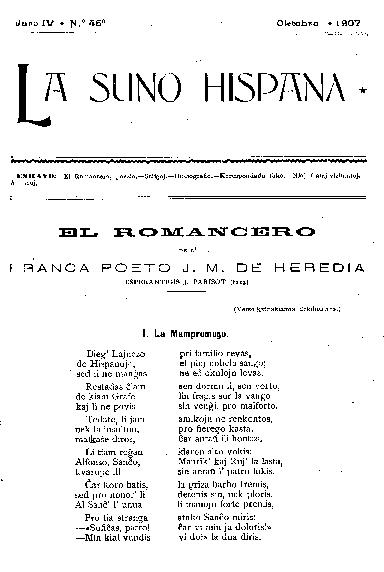 La suno hispana, [1907], n. 046, jaro IV