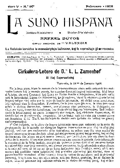 La suno hispana, [1908], n. 050, jaro V