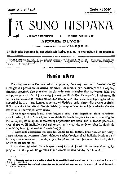 La suno hispana, [1908], n. 053, jaro V