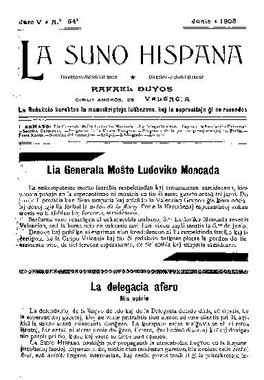La suno hispana, [1908], n. 054, jaro V