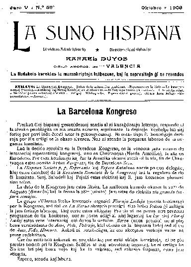 La suno hispana, [1908], n. 058, jaro V
