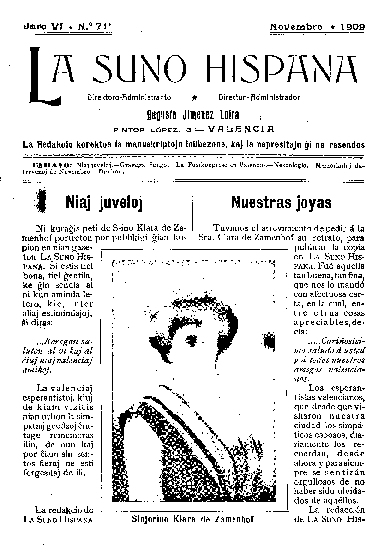 La suno hispana, [1909], n. 071, jaro VI