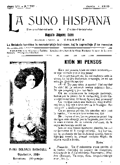 La suno hispana, [1910], n. 078, jaro VII