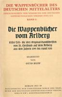 Die Wappenbücher vom Arlberg