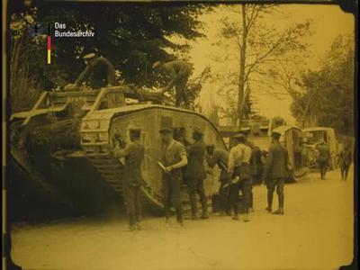 Die Schlacht zwischen Aisne und Marne
