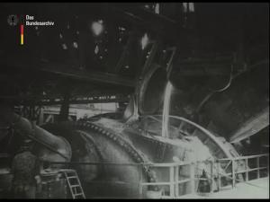 Das Thomas-Stahlwerk der Gutehoffungshütte zu Oberhausen Rheinland