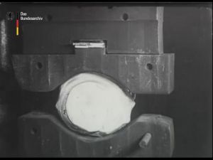Herstellung der Minenwerfer und ihrer Munition