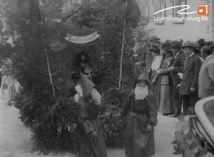 Das Kinderfest in Gaggenau i.B. im Jahre 1912