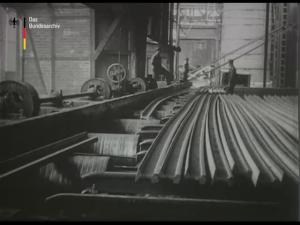Das Walz- und Hammerwerk der Gutenhoffnungshütte zu Oberhausen Rheinland