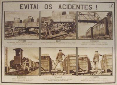 Quadro de informação: Evitai os acidentes 7