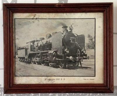Fotografia: A Locomotiva 1202 S.S.