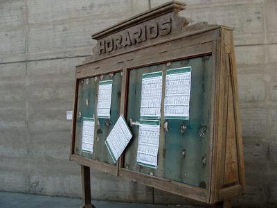 Porta Horários