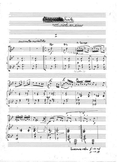 Suite voor viool en piano