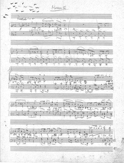 Horra IV voor piano