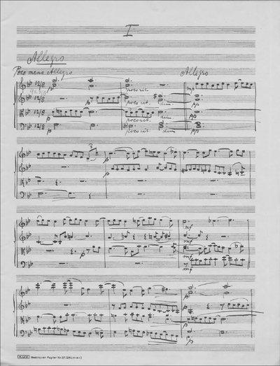 2e Strijkkwartet / Zweites Streich-quartett / Deuxième quatuor