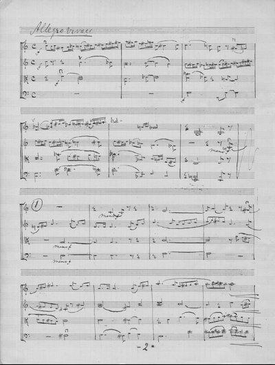 Strijkkwartet 1940