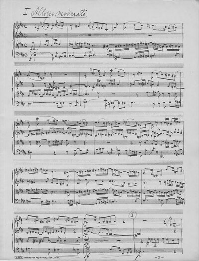Strijkkwartet D-dur