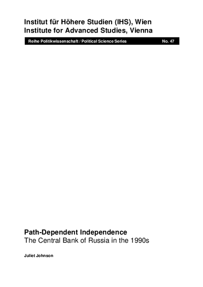 Path-Dependent Independence