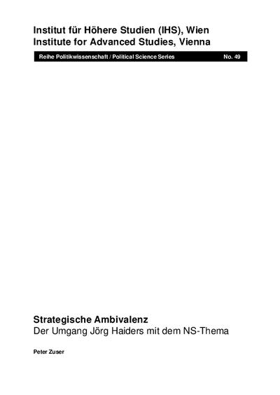 Strategische Ambivalenz