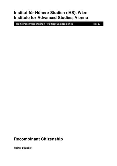 Recombinant Citizenship