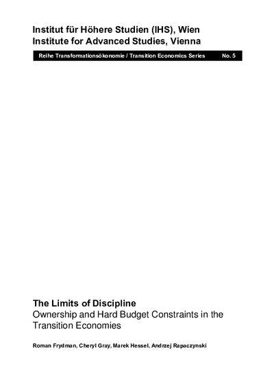 The Limits of Discipline