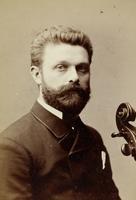 Portrait eines unbekannten Musikers