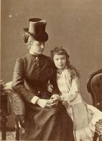 Marie Louise von Larisch-Wallersee und Erzherzogin Marie Valerie