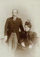 Portrait Graf Steni und Mathilde Palffy