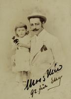 Ungarischer Aristokrat mit Tochter