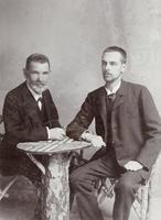 Graf Johnny Nugent mit seinem Hauslehrer Jonasch
