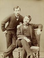 Arthur Schnitzler und Fritz Kapper
