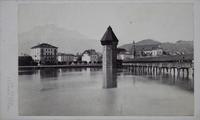 Die Kapellbrücke. Luzern. Schweiz