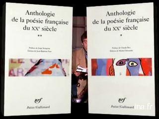 Claude Roy et Jorge Semprun : anthologie de la poésie française au vingtième siècle