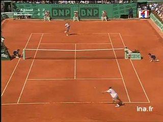 Finale messieurs à Roland Garros : Deuxième set Andrei Medvedev face à Agassi