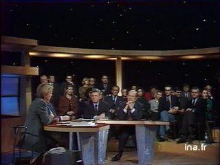Jean François Poncet, sénateur, ancien ministre des affaires étrangères débat sur l' Europe